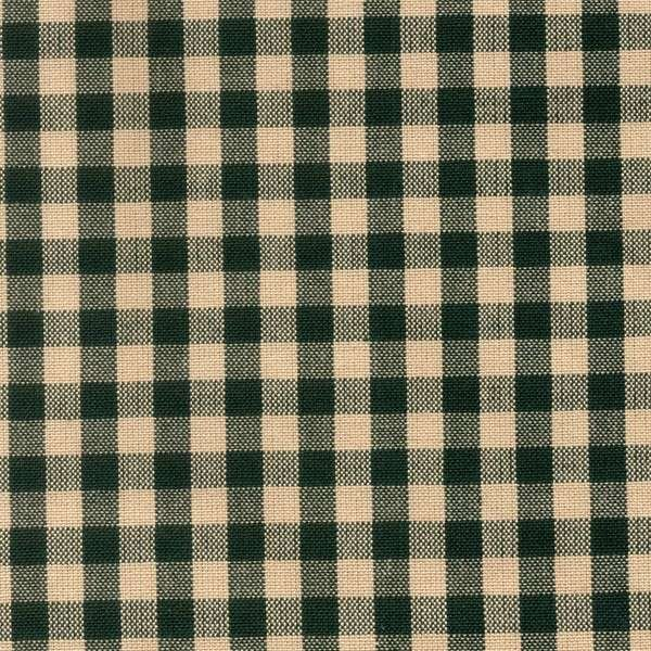 Tea Towel Small Check - Green
