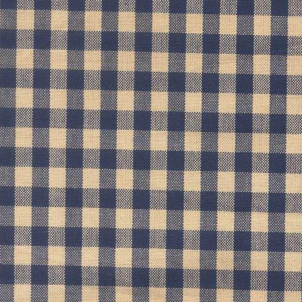 Tea Towel Small Check - Blue