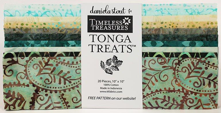 Layer Cake - Tonga TUSCANY - 20 pcs