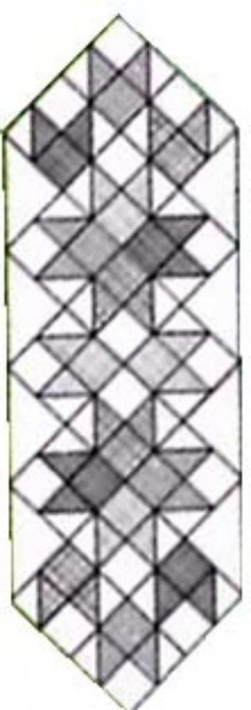 Tulip Tango Runner Pattern