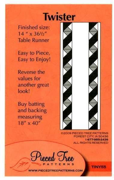 Twister Table Runner Pattern