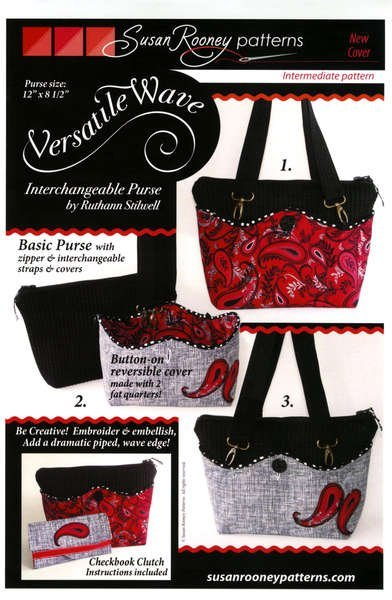 Versatile Wave Purse Pattern