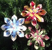 Woven Snowflake Ornament Kit