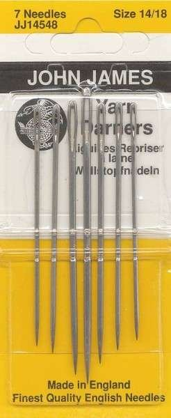 Yarn Darner Needles  6 pk