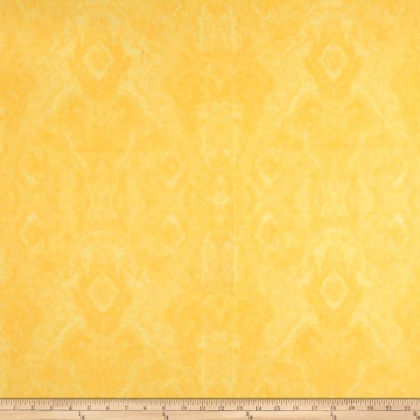 Comfy Flannel Print Yellow Blender