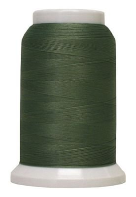 Polyarn flocked polyester Serger Thread Seafoam