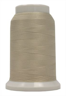 Polyarn flocked polyester Serger Thread Eggshell