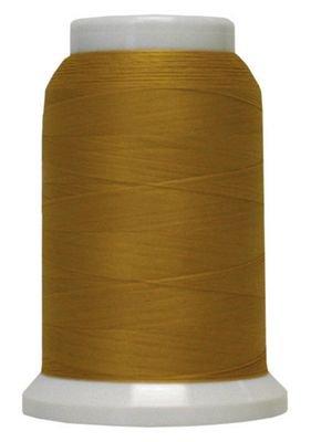 Polyarn flocked polyester Serger Thread Gold