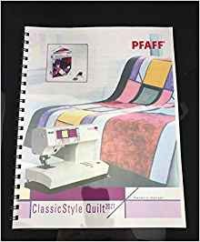 Pfaff manual for Classic Style Quilt 2027
