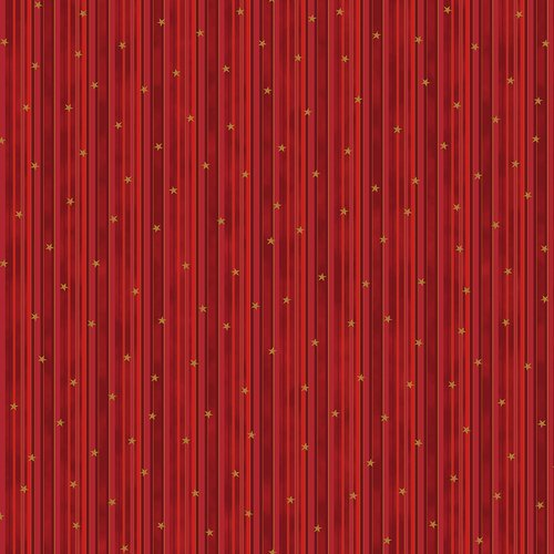 Christmas is Near - Stripes - Red