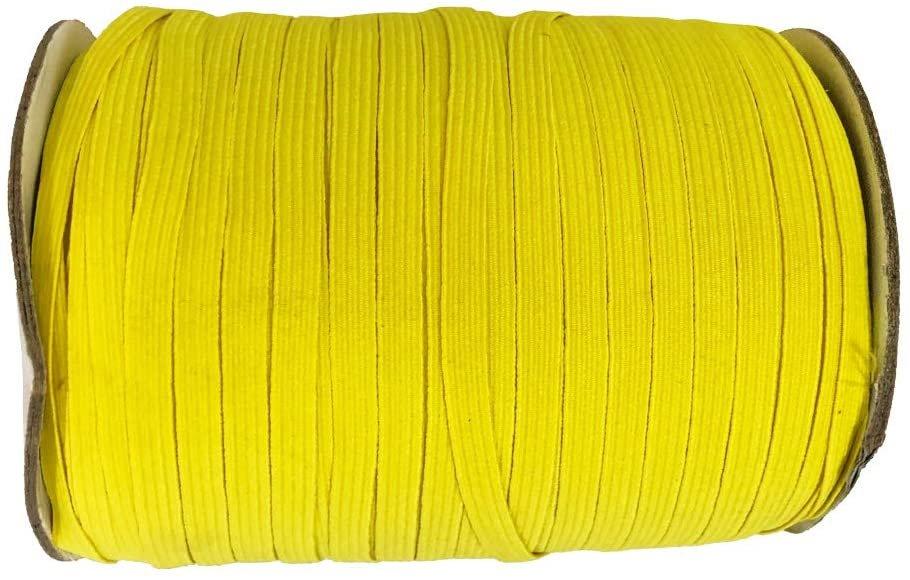 1/4 Elastic - Lemon Yellow