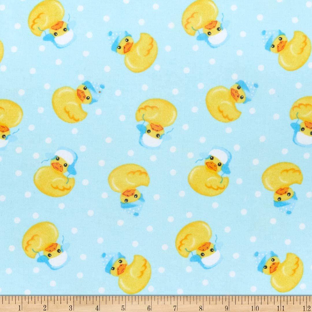 Comfy Flannel Print Winter Ducks