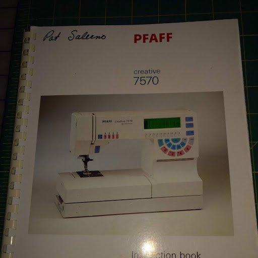 Pfaff 7570 Manual for Machine