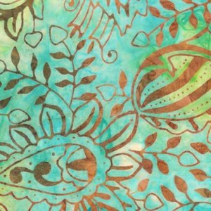 Batik - Flourish Green