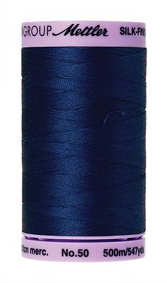 Silk Finish Cotton 50wt 547 yards Imperial Blue