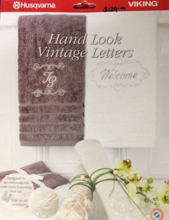 Viking Hand Look Vintage Letters Embroideries