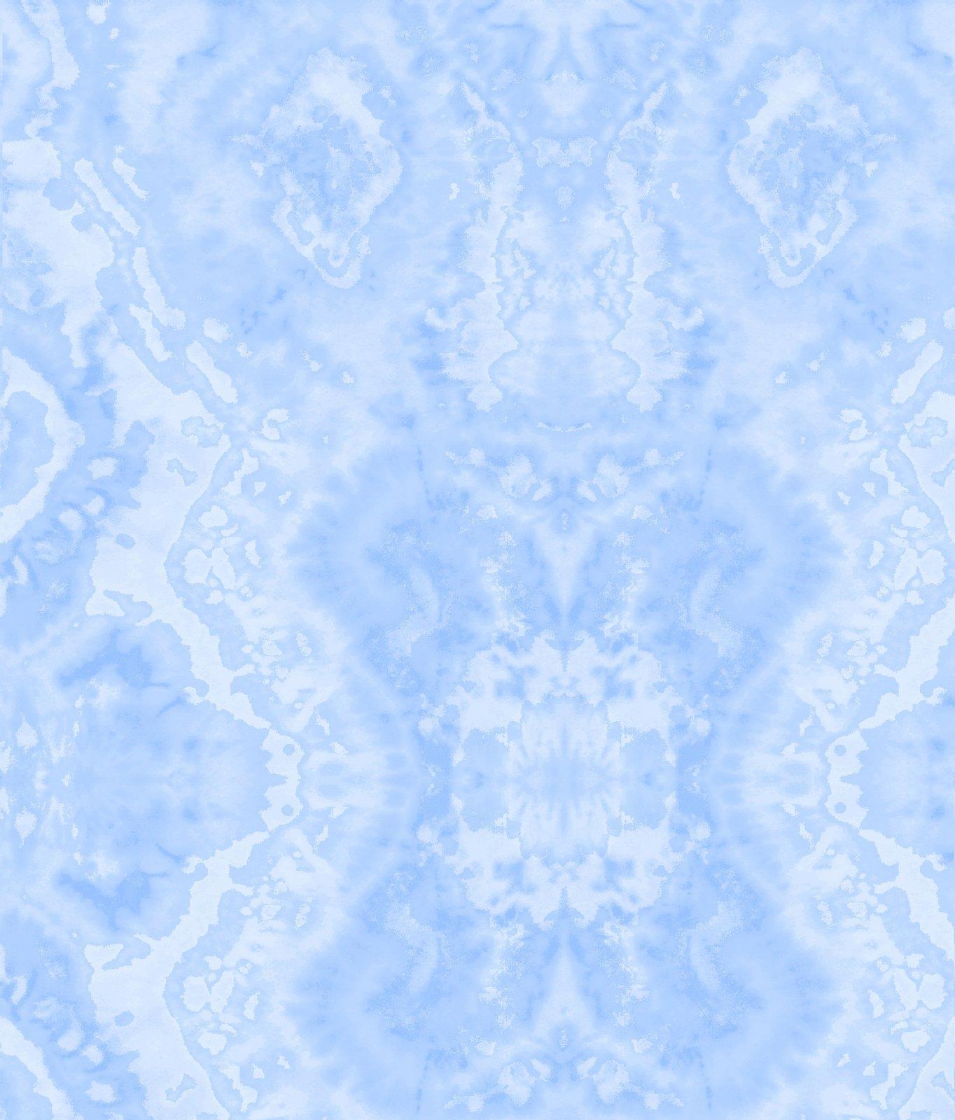 Comfy Flannel Print Medium Blue Blender