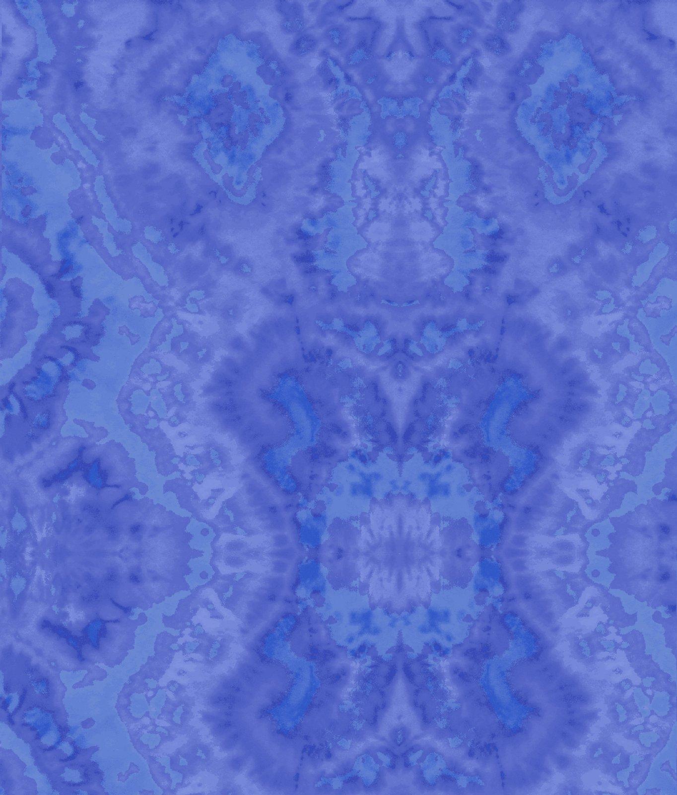 Comfy Flannel Print Blue Blender