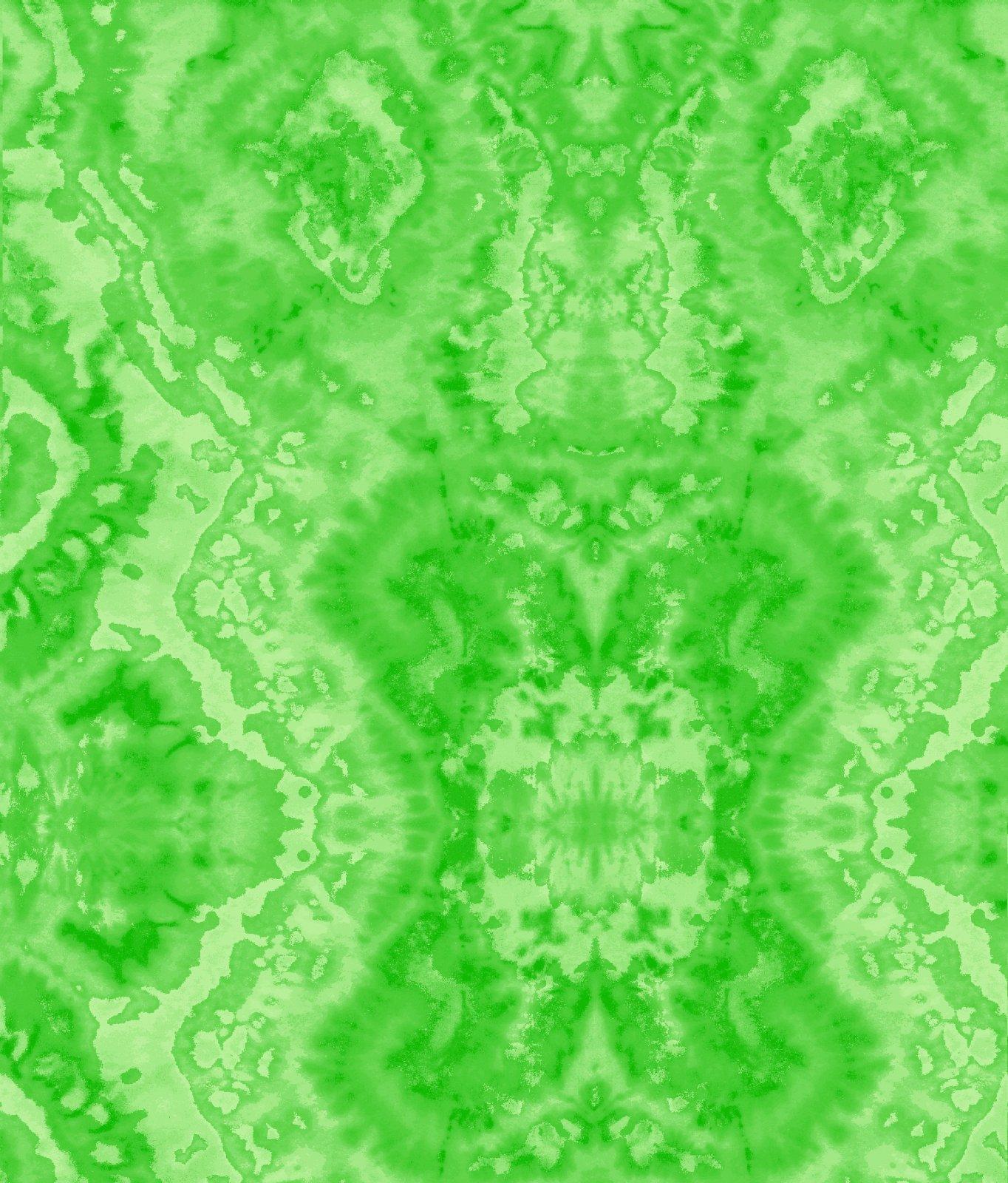Comfy Flannel Print Green Blender