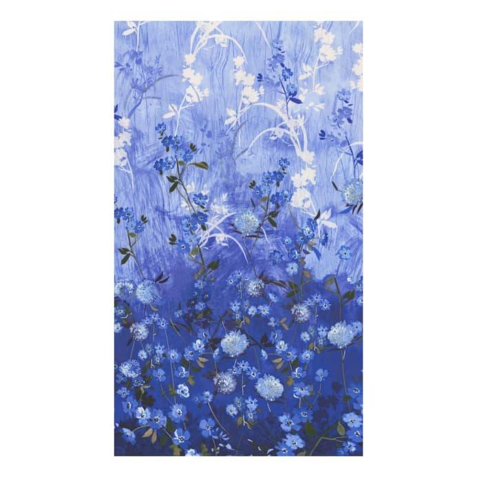 Azure Fields of Blue fabric