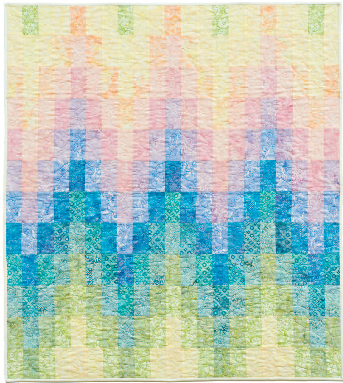 Project Sheet - Baby Bargello Quilt Pattern