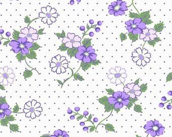 Berries And Blossoms Purple