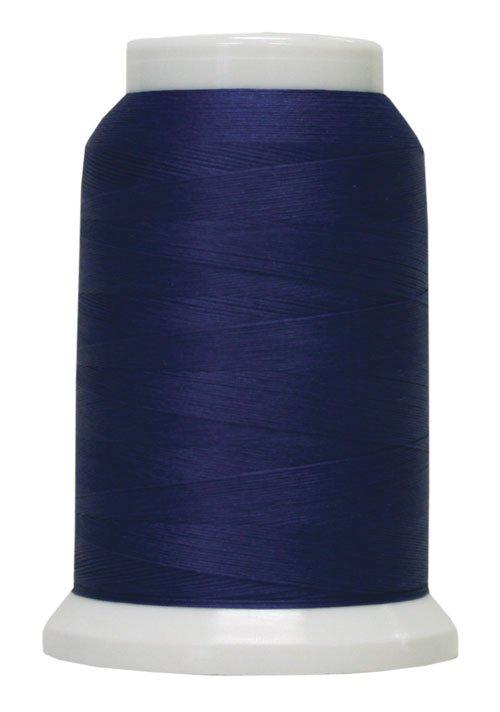 Polyarn flocked polyester Serger Thread Blue