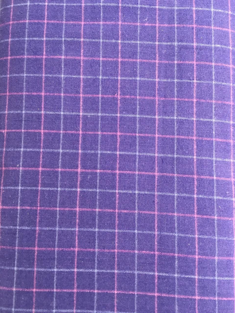 Blueberry Tattersall Flannel