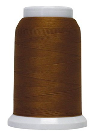 Polyarn flocked polyester Serger Thread Blue Jean Gold