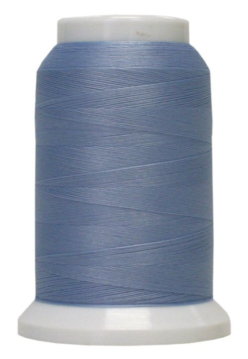 Polyarn flocked polyester Serger Thread Blue Mist