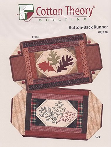 Cotton Theory Quilting Button Back Runner