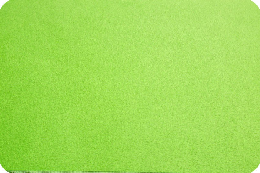 Cuddle Fabric - Solid Dark Lime 58 Wide