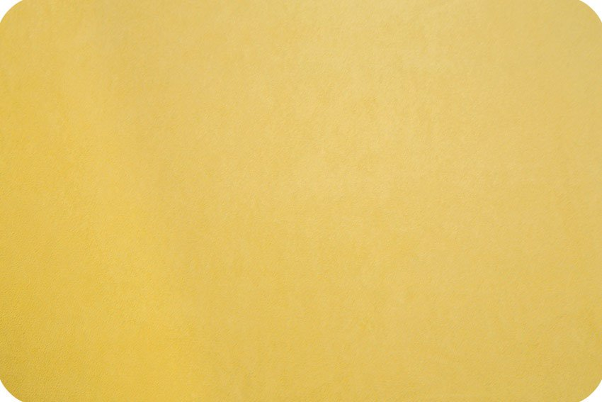 Cuddle Fabric - Solid Lemon 58 Wide