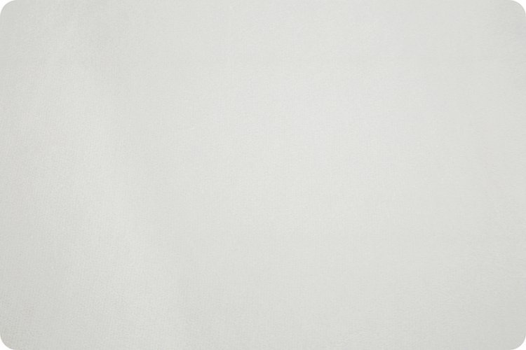 Cuddle Fabric - Solid White 58 Wide
