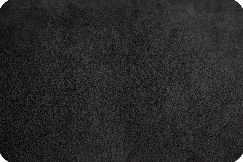 Cuddle Fabric - Solid Black 58 Wide