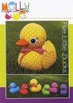 Five Little Ducks Stuffed Animal Pattern