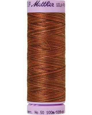 Silk Finish cotton 50wt 109 yards Chocolate