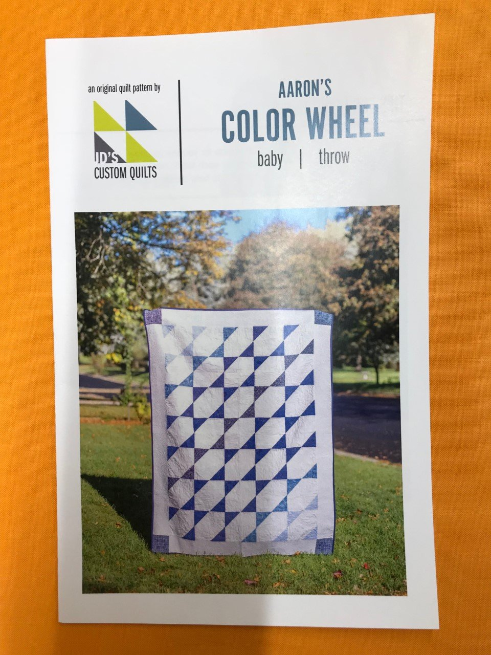Aaron's Color Wheel Quilt Pattern