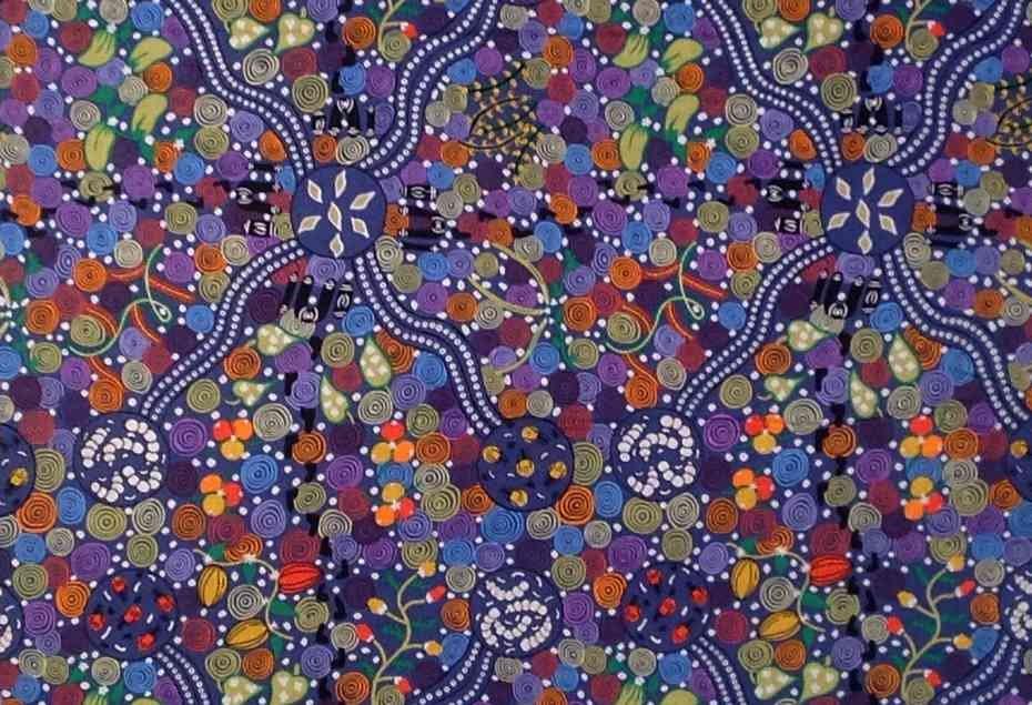 Aboriginal Corroboree Blue