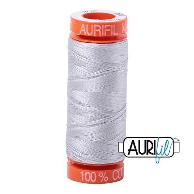 Aurifil Mako 50wt Solid 219yds - DOVE 2600