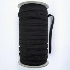 3/8 Elastic - black