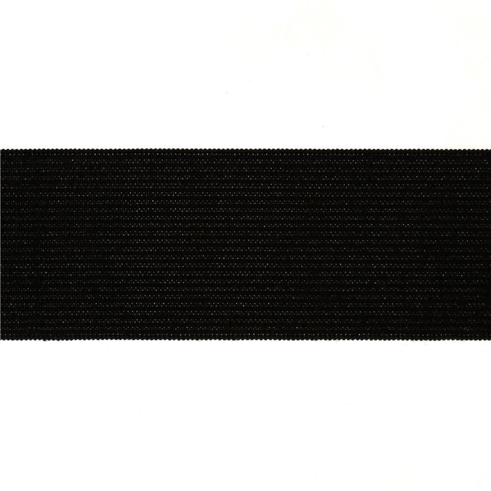 1/2 Elastic-Black