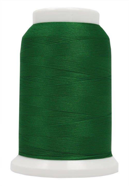 Polyarn flocked polyester Serger Thread Emerald