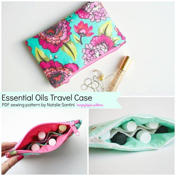 Essential Oils Travel Pattern