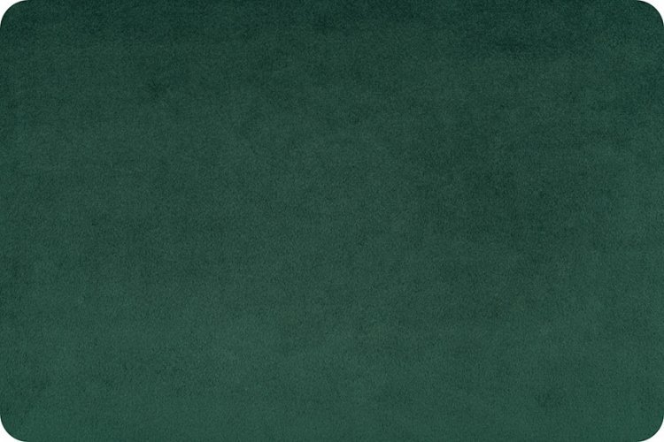 Cuddle Fabric - Solid Evergreen 58 Wide