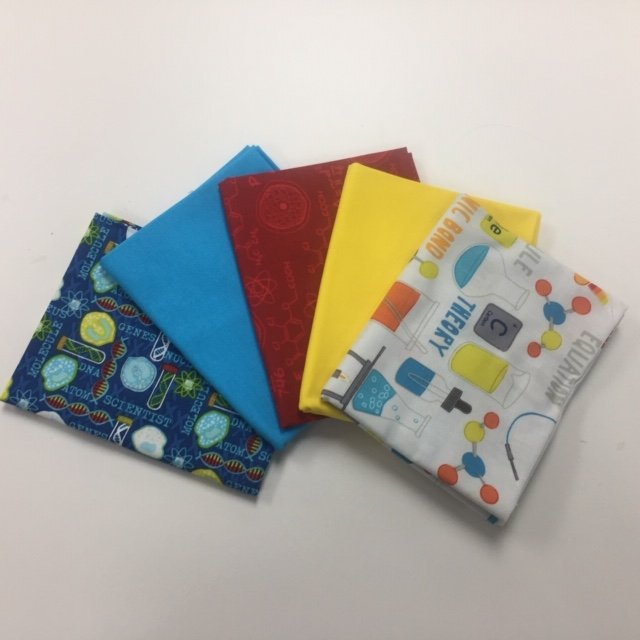 For Science! Five Fat Quarter Bundle