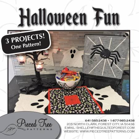 Halloween Fun 3 project patterns