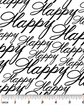 Happy White/Black