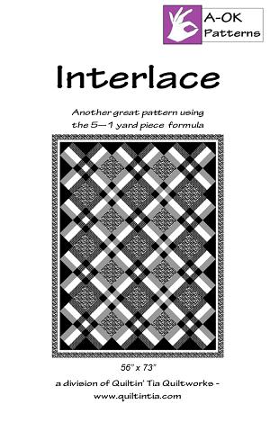 5 Yard Quilt Pattern - Interlace
