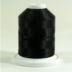 Super Strength Rayon Embroidery Thread 2 ply 40 wt 1100 yards Jet Black